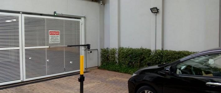 Acesso de veículos à garagem por leitor de placas:  mais segurança para o condomínio